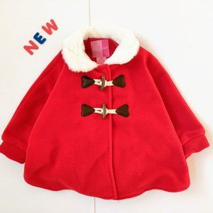 ❄️NWT❄️Girls Winter Coat Fleece Size 18M